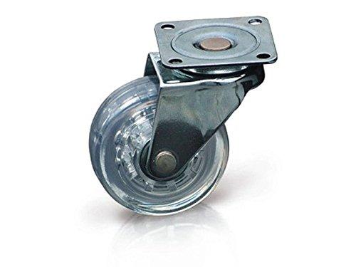 SO-TECH® roulettes de meubles roues de meubles roulettes pivotante roulettes transperente 4250496619682