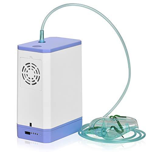 RGLZY Tragbares Heim-Beatmungsgerät Mit Schlauch-Luftstrom Für Zu Hause Und Unterwegs