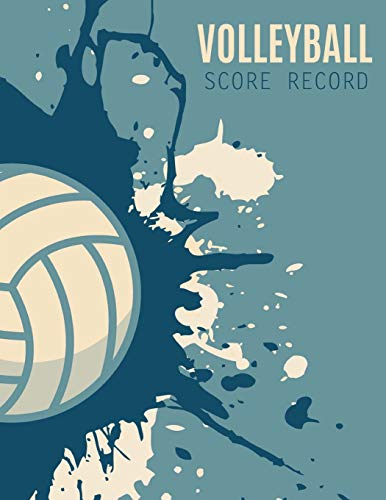 Volleyball Score Record: Volleyball Game Record Book, Volleyball Score Keeper, Spaces on which to record players, Substitutions, Serves, Points, Sanctions, Size 8.5 x 11 Inch, 100 Pages por Narika Publishing