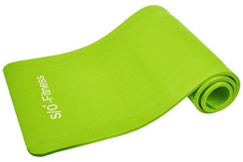 S/O® Tappetino da yoga 6colori 190X 60X 1,5cm, tappetini yoga, tappetini  da ginnastica, tappetini pilates testati contro le sostanze nocive, tappetini fitness, materassini