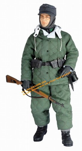 Karl Grevstad Luftwaffe Ground Infantryman with Winter Sui 12 inch Action Figure by Dragon by Dragon Models USA