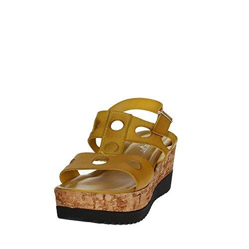 Cinzia Suave Iaf2836 28t 003 Sandalia Mujer Amarilla
