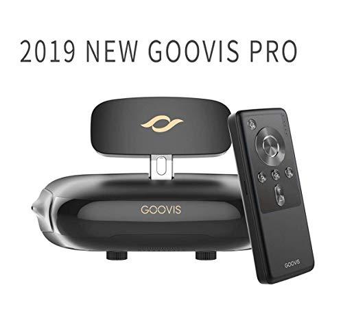 Govis G2 Kino-VR-Headset 3D Theater Brille, 4K Blu-ray-Player mit Sony OLED 1920 x 1080 x 2, HD Riesen-Bildschirm, kompatibel mit Set-Top-Box, PS4, Xbox, Nintendo und Drohne Goovis PRO-2