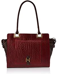 Hidesign Amore 02 Red Leather Shoulder Bag Handbag
