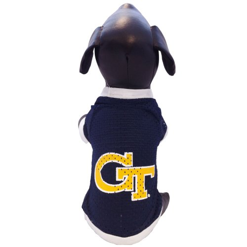All Star Dogs NCAA Georgia Tech Gelb Jacken Athletic Mesh Hund Jersey, unisex, Team Color, L (Athletic Jersey Logo Athletic)