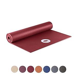 Lotuscrafts Yogamatte Mudra Studio [5mm Dicke] – Hautfreundlich & Schadstoffgeprüft – für Anfänger und Fortgeschrittene – Profi Matte für Yoga, Pilates, Sport und Training
