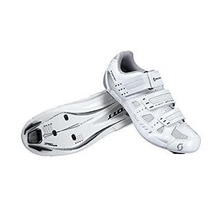 Scott Road Comp Lady Shoe - White Gloss - EU 37 / UK 4.5 / US 6 - Womens high performance road shoe