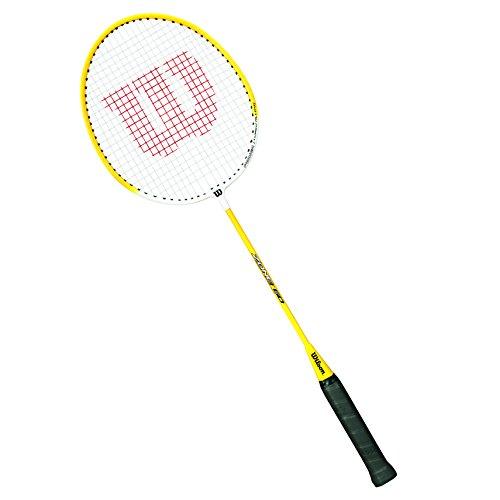 WILSON Unisex Champ Badmiton 1/2Racchette, Unisex, WRT8723304, Yellow/Black, 4
