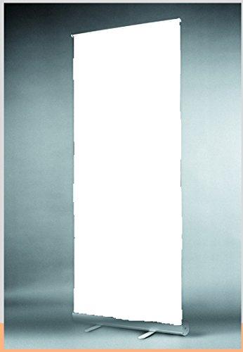 PrintGreen! Roll Up Display 85 x 200 cm mit weißer Leinwand