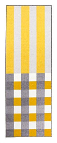 Vallila Interior CM000390-22 Stiplu Teppichläufer, 80 x 230 cm, gelb