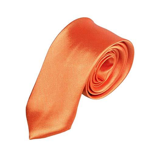 Herren Schwarz Krawatte 5cm,Binggong MännerKlassische Einfarbig Schlips Herrenkrawatte in verschiedenen Farben Slim Tie Retro Business Schlips schmal -