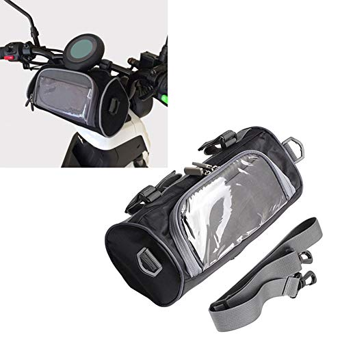 DEBBD - Bolsa de Almacenamiento para Manillar de Motocicleta