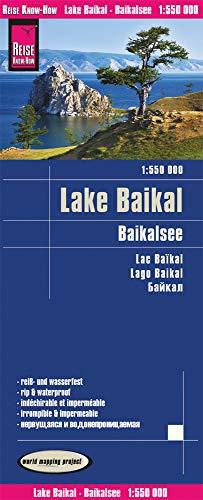 Russland-karte (Reise Know-How Landkarte Baikalsee (1:550.000): world mapping project)