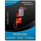 "4 x SWIDO protecteur d'écran Sony NW-A27HN film protecteur feuille ""CrystalClear"" invisible"