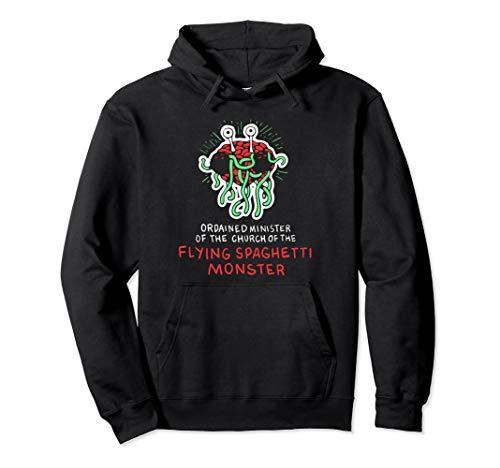 Fliegende Spaghetti Monster Lustige Atheist Pullover Hoodie