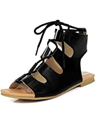 Beauqueen Pumps Sandales Femmes Printemps Et Eté Plat Crocs Dentelle Femmes Sandales Chaussures Occasionnels Taille Spéciale Europe Taille 32-43 , 35