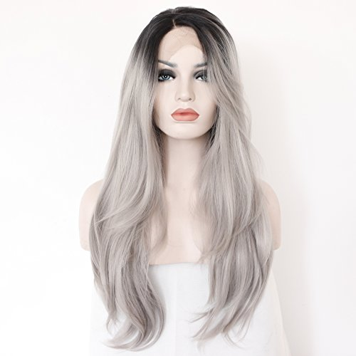 kryssma-long-natural-straight-hair-ombre-black-to-silver-grey-dark-roots-synthetic-wigs-for-women-gl