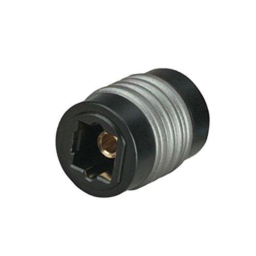 P Prettyia Toslink Optischer Koppler Digital Audio Fiber Optic Female Extension Adapter - Digital-audio-koppler
