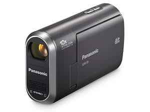 Panasonic SDR-S9 Caméscope numérique compact à carte SD/SDHC  Zoom optique 10x silver