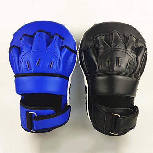 Professionelle Wahl Boxen Mat MMA Haken Box Target Training Muay Thai Boxing Taekwondo Kampfsport Tor Fokus Handschuhe (Farbe Zufall 2 Stück)