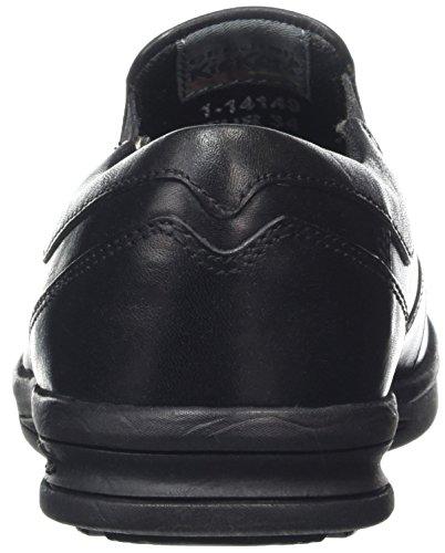 Kickers Troiko Slip-Junior, Mocassins Garçon Noir - Noir