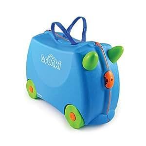 Trunki Terrance Valigia per bambini, Blu
