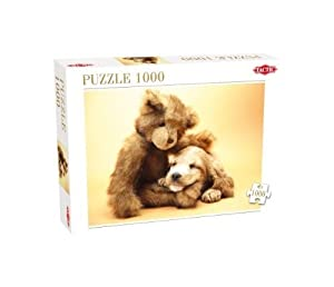 Tactic Puppy and a Teddy Bear Puzzle - Rompecabezas (Puzzle Rompecabezas, Fauna, Adultos, Niño/niña, 8 año(s), 99 año(s))