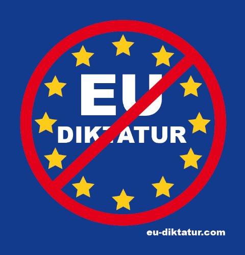 3 Auto Aufkleber EU Diktatur EUdSSR No Anti Stopp Gegen