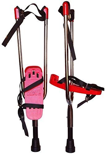Actoy® Stelzen Paar, Rot: Erwachsene bis 180 cm