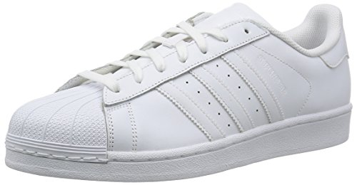adidas Superstar Foundation, Baskets Basses Mixte Adulte white
