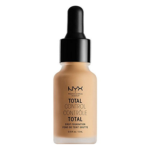 Total Finish Foundation (NYX Total Control Drop Foundation - True Beige)