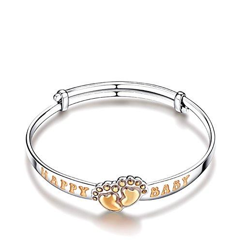 collier pendentif/925Argent plaqué platine/ cadeaux d'anniversaire B