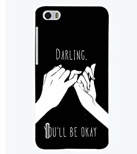 printtech Darling Back Case Cover for Huawei Honor 6