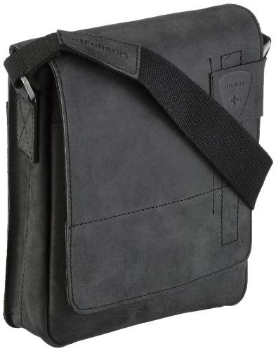 Strellson Richmond Messenger SV 4010001165 Herren Umhängetaschen 20x23x6 cm (B x H x T), Schwarz (black 900)