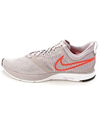 new concept 0e4ec 95286 Nike Zoom Strike, Chaussures de Trail Homme, Gris (Atmosphere Grey/Total  Crimson