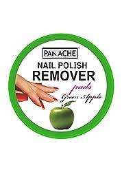 Panache Nail Polish Remover Pads, Green Apple