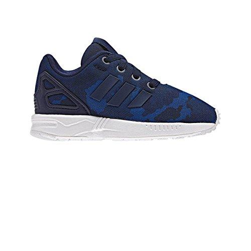 adidas Originals Chaussures Bebe ZX Flux El Bleu Camo e17