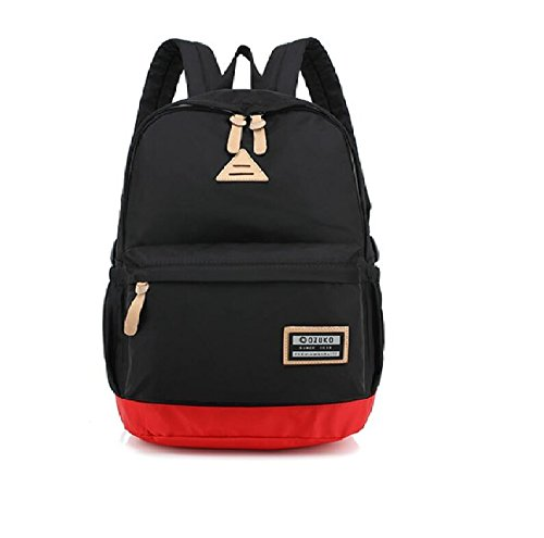 Z&N Backpack Multifunktionale Männer und Frauen Umhängetasche Student Mode Freizeit Reise Rucksack Gepäck Fitness Tasche Tasche Camping Ausrüstung Urlaub Tasche black