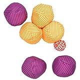 Ocean 5 Extrem Boule - Soft-Boule Set, Street-Boccia, Cross Country Petanque mit Tasche Immer überall in und Outdoor Spielen