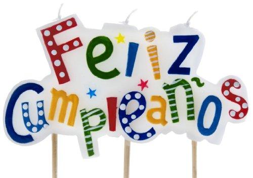 IBILI 786216 - Vela Feliz Cumpleaños