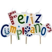 IBILI 786216 VELA FELIZ CUMPLEAÑOS