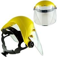 Protector de la cara - frente guardia con visera de policarbonato, pack de 1
