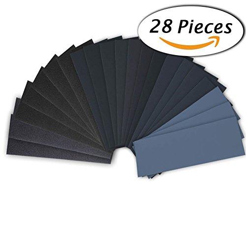 lot-de-28-papier-de-verre-gochange-papier-abrasif-230-x-93mm-a-sec-a-leau-120-150-180-240-320-400-60