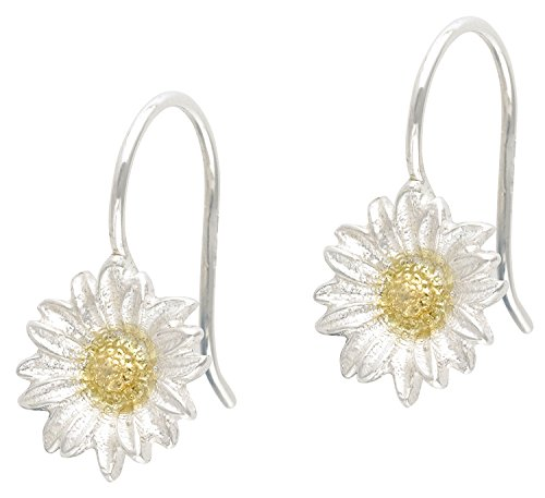 dower-hall-bloom-sterling-silver-yellow-gold-plated-daisy-drop-earrings