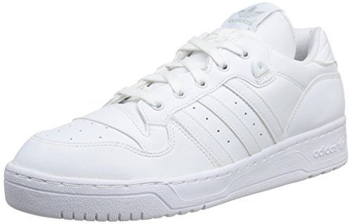 adidas Rivalry Lo, Chaussures de Sport Homme Ftwwht/Ftwwht/Ftwwht