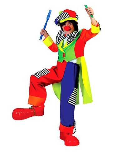 Spanky Stripes Clown Ch Md by Funny Fashion -
