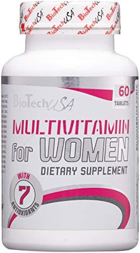 Biotech USA Vitaminas y Minerales para Mujer