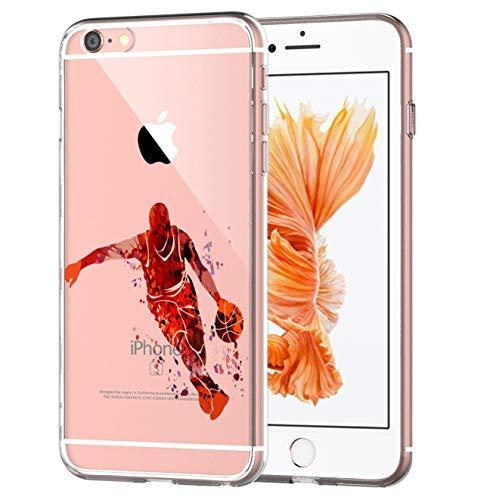 blitzversand Handyhülle Sport Art kompatibel für iPhone 5 C Angriff Basketball Schutz Hülle Case Bumper transparent M10 (5 I Basketball C Phone)