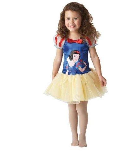 Ballerina Schneewittchen Kostüm - Kostüm Schneewittchen Ballerina Gr. 3-4 Jahre - DE versandkostenfrei