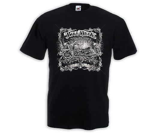 Biker T-Shirt Bike Week 2 Motorcycle Bike Racing USA Custom Gr.XL